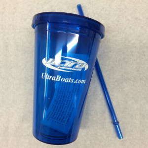 Sippy Cups in Blue, Double Insulated